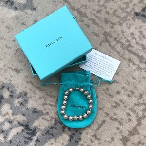 Authentic Tiffany & Co. Silver beaded bracelet